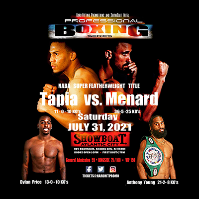 Hard Hitting Promotions Presents Professional Boxing Series