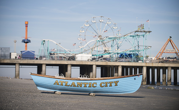 Atlantic City Beaches & Boardwalk